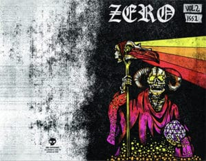 Zero zine Volume 2 ads
