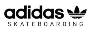 adidas skateboarding logo large noir