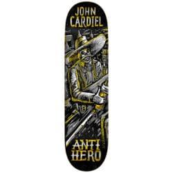 """Plateau de Skate Antihero skateboards Aguardiente Cardiel en taille 8.38"""" x 32.43"""""""