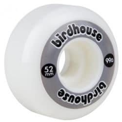 Roues Birdhouse Logo gris52mm