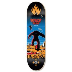 "Planche de Skate Black Label Space Junk Team en taille 8.75"" x 32.63"""