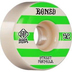 Roues de skate Bones Wheels STF v4 Patterns en taille 52 mm et dureté 99a