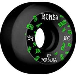 Roues Bones Wheels 100's v5 54mm
