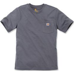 T-Shirt Carhartt Work Pocket Charcoal