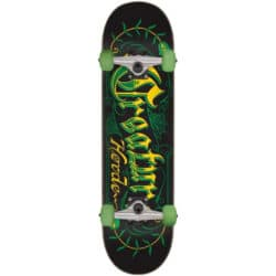"Skateboard complet CreatureHorde Script Factoryen taille 8.0"", roues 52mm et trucks Bullet 130"