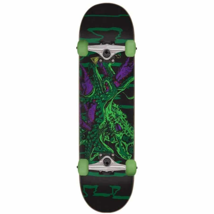 "Skateboard complet Creature Octo Factory en taille 7.75"", roues 52mm et trucks Bullet 130"