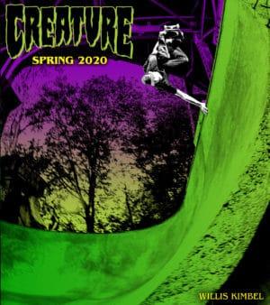 creature skate spring 2020 ADS