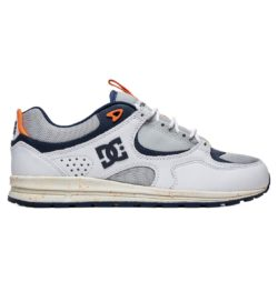 Chaussures de Skate DC Shoes Kalis Lite Se couleur Grey/White