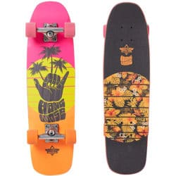 "Skate Cruiser Dusters California ""Shaka 29"" complet couleur rose / Orange"