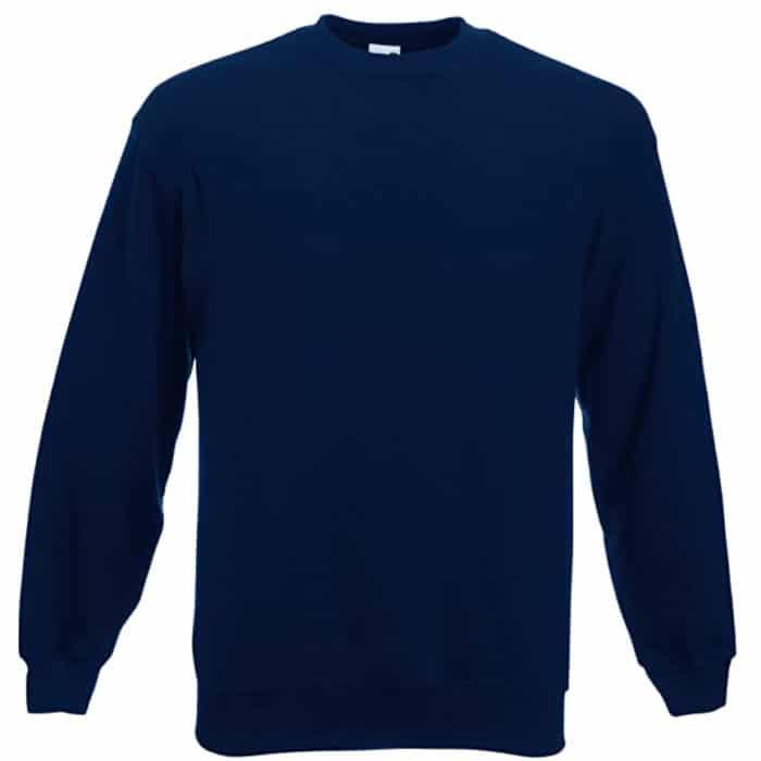 Sweatshirt Fruit of the Loom 12200B couleur marine