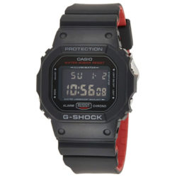 Montre Casio G-SHOCK DW-5600HR-1ER Noir/Rouge