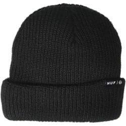 """Bonnet Huf """"Usual"""" noir"""
