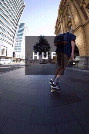 huf skate ads