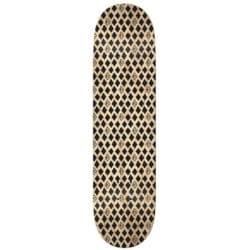 "Plateau de skate Krooked Skateboards ""TPP dymonds Black"" deck en taille deck 8.5"""