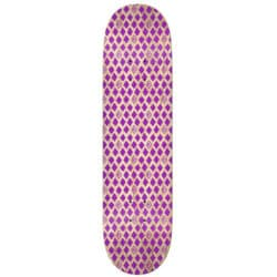 "Plateau de skate Krooked Skateboards ""TPP dymonds Purple"" deck en taille deck 8.25"""
