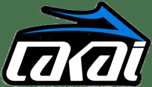logo lakai blanc noir bleu