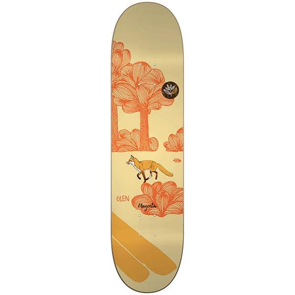 "Planche de skate Magenta Skateboard Glen Fox Leap deck en taille 8.5"""