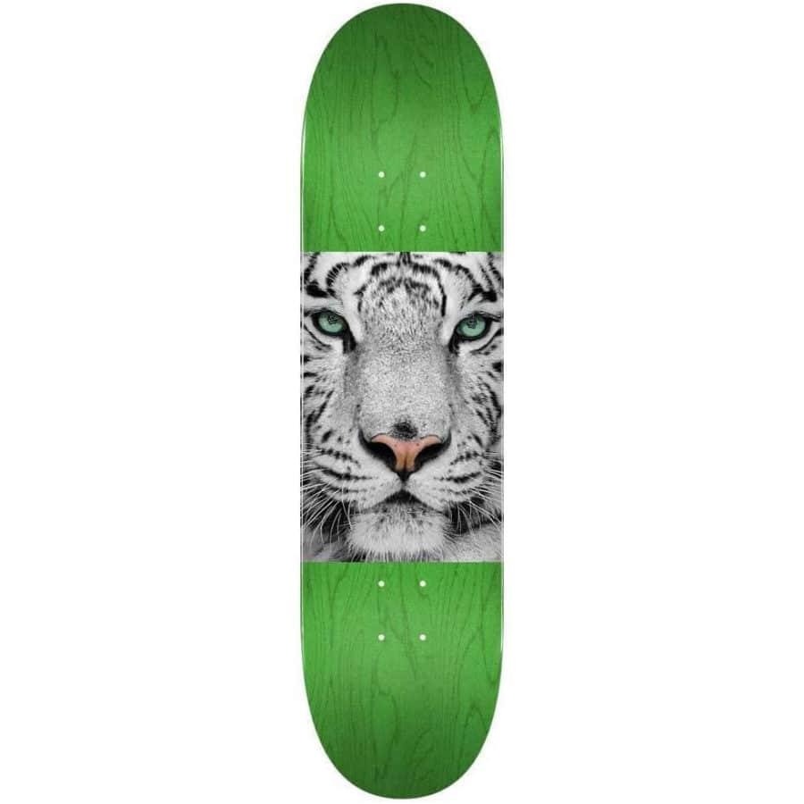 "Planche de Skateboard Mini Logo Chevron Tiger Eyes en taille deck 8.25"""