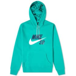 Sweat à capuche Nike SB Icon Hoodie Neptune Green/(White)