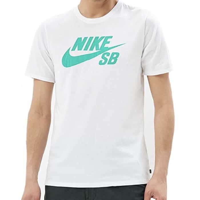 T-shirt Nike SB Logo blanc