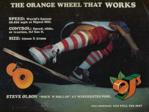OJ Wheels 1978 ads