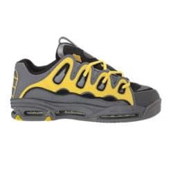 Chaussures Osiris D3 2001 en couleur Anthracite/Jaune