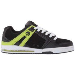 Chaussures de skate Osiris Pxl de couleur black lime (noir / vert)