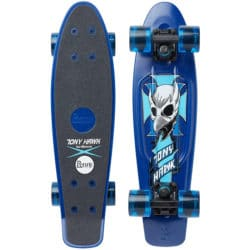 "Skate Cruiser Penny Australia Tony Hawk Crest bleu en taille 22"""