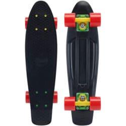 """Skate Cruiser Penny Noir/Rasta 22"""""""
