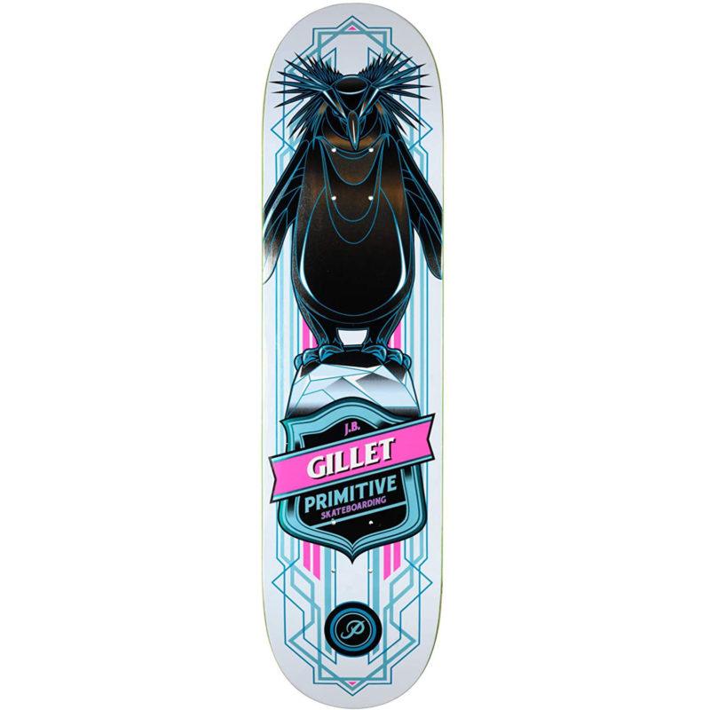 """Planche de Skate Primitive Gillet Pro Penguin , pro-model JB Gillet en taille deck 8.0"""""""