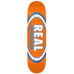 "Planche de Skate Real Skateboards Jafin AM Edition Oval en taille deck 8.25"" x 32"""