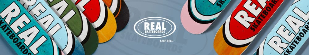 Produits Real Skateboards en stock