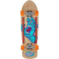 Skateboard Old School / Cruiser complet SANTA CRUZ Screaming Hand.