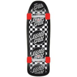 Skateboard Old School / Cruiser complet SANTA CRUZ Multicheck Dot 80S