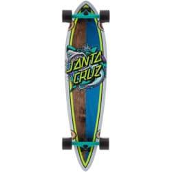 Skate Cruiser Longboard Santa Cruz Shark Dot en taille 9.58 x 39.0