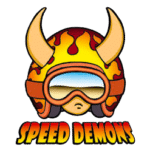 logo speed demons skateboards