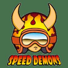 logo speed demons skateboards