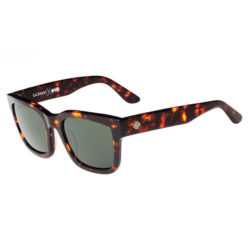 Lunettes de soleil unisex Spy Optic Trancas Classic en couleur marron / vert (camo/Happy Gray Green)