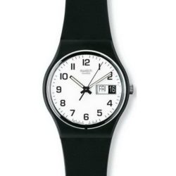 Montre Swatch Once again noir