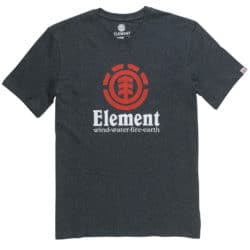 T-shirt Element Vertical Gris