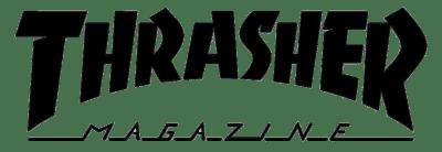 thrasher logo large noir