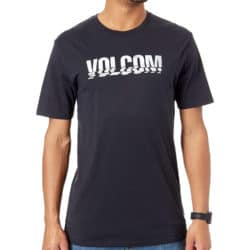 T-Shirt Volcom Chopped Edge Basic noir