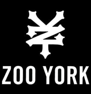 logo zoo york noir