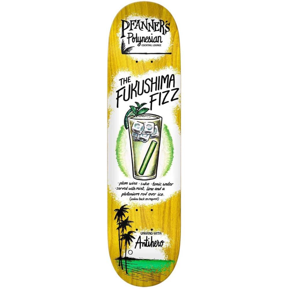 "Plateau de Skate Antihero Skateboards Drink Specials Pfanner deck, pro model Chris Pfanner en taille 8.06"" x 31.97""ards Drink Specials Pfanner deck en taille 8.06"" x 31.97"""