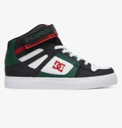Chaussures DC Shoes Pure High-Top WC blanc, vert