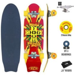 Skate Cruiser Complet Dogtown Mini Death to Invaders en taille 8.6""
