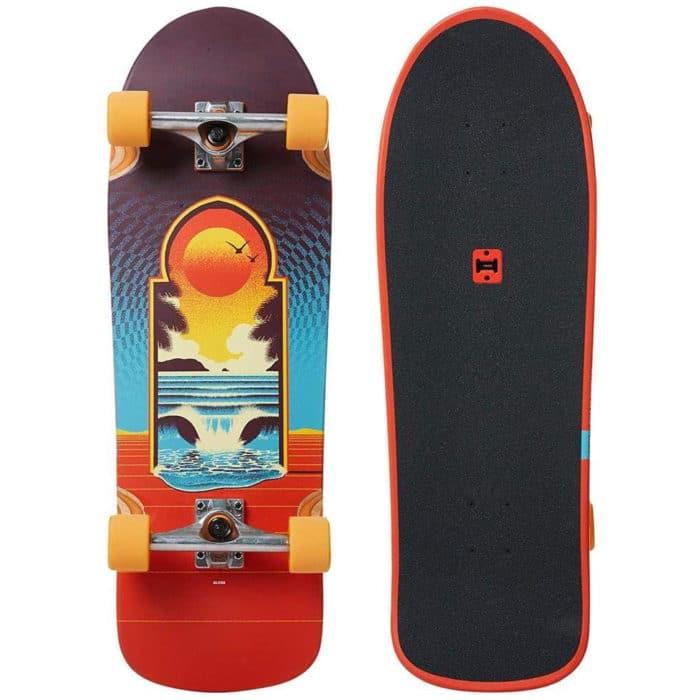 Skateboard Cruiser complet Globe Burner Cult of Freedom Portal