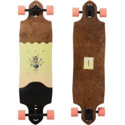 Longboard Globe Geminon Micro-Drop couleur Coconut/Hula