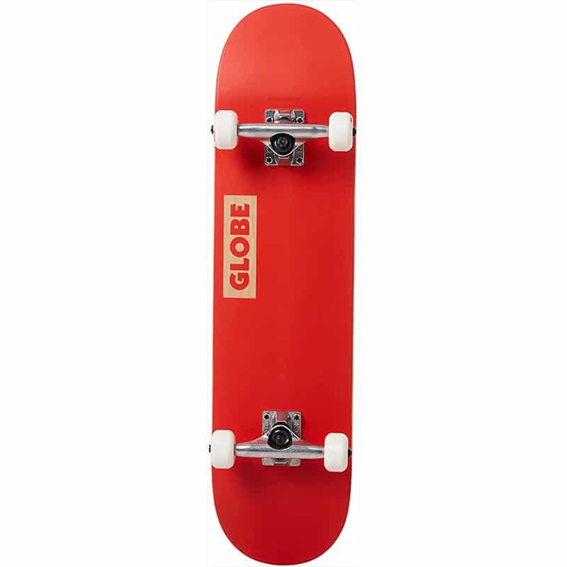 """Skate complet Globe Goodstock Rouge (Red) en taille deck 7.75"""""""