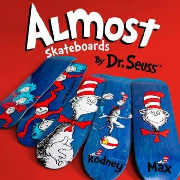 ALmost Dr SEuss Serie deck ads